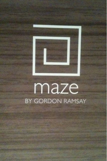 Maze by Gordon Ramsay near the